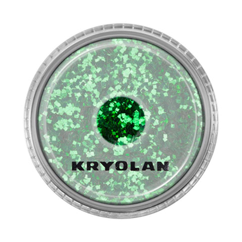 Kryolan Light Green Coarse Polyester Glimmer (4 gm)