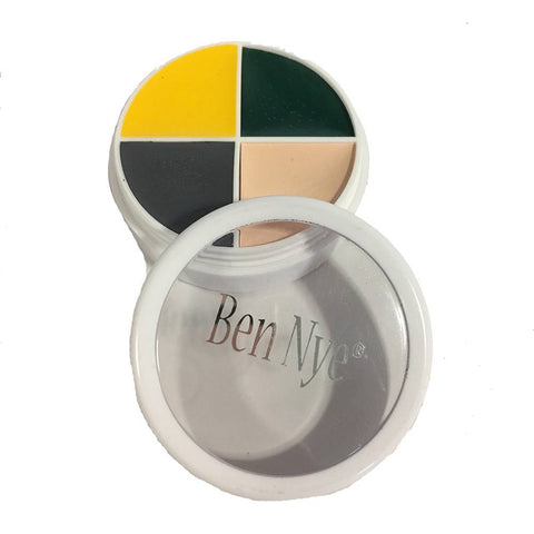 Ben Nye 4 Color Witch Makeup Wheel (0.5 oz)