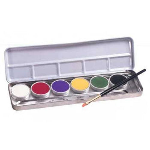 Ben Nye 6 Color Clown Series Primary Palette LKP-1 (1 oz)
