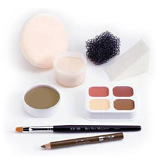 Ben Nye Olive (Deep Theatrical) Makeup Kits PK-4