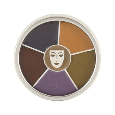 Kryolan 6 Color Bruise Wheel (30 gm)
