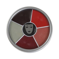Kryolan 6 Color Burn & Injury Wheel (30 gm)