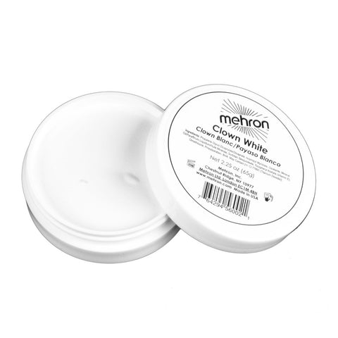 Mehron Clown White Cream Makeup (2.25 oz)