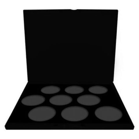 Mehron Starblend Empty Palette - 9 x 2 oz Insert (Choose Case Color)
