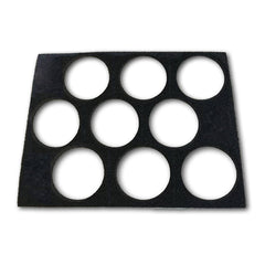 Empty 9 Color Pressed Powder Palette Case Insert