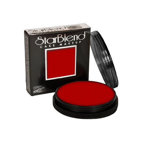 Mehron Red StarBlend Cake Makeup  (2 oz)