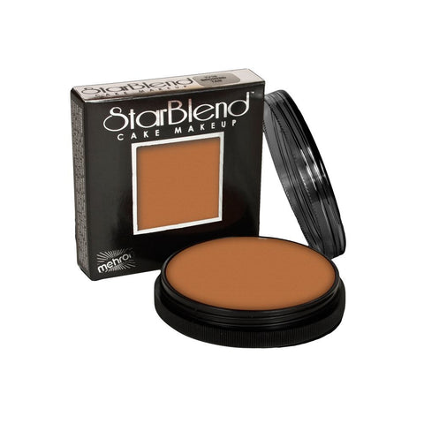 Mehron Medium Tan StarBlend Cake Makeup TV8 (2 oz)