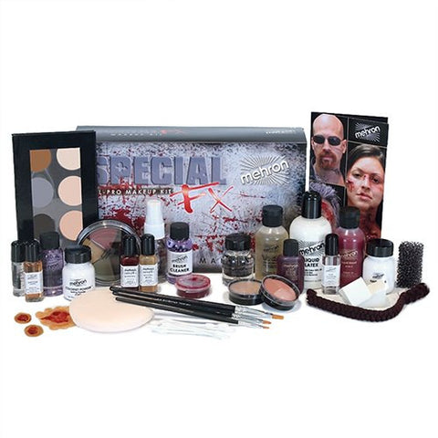 Mehron ALL-PRO Professional Special FX Makeup Kit