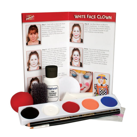 Mehron Clown Makeup Kit