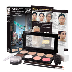 Mehron MiniPro Fair/Olive Fair Theatrical Makeup Kit