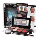 Mehron MiniPro Medium Dark/Dark Complexion Makeup Kits KMP-B