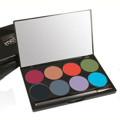Mehron 8 Color INtense Pro Earth Pressed Powder Palette