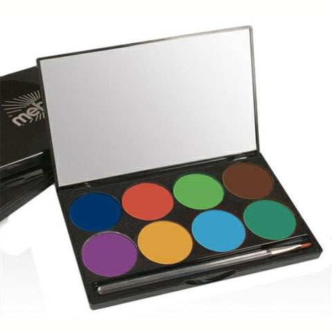 Mehron 8 Color INtense Pro Wind Pressed Powder Palette