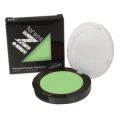 Mehron Light Green INtense Pro Pressed Powder