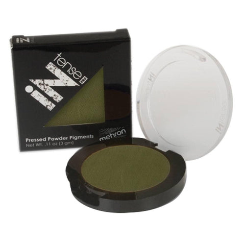 Mehron Mountain Moss Green INtense Pro Pressed Powder
