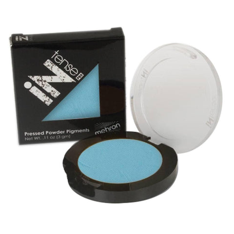 Mehron Light Blue INtense Pro Pressed Powder