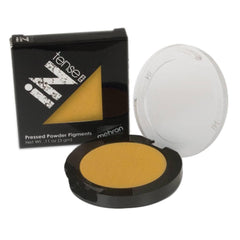 Mehron Dark Yellow INtense Pro Pressed Powder