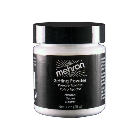 Mehron Neutral UltraFine Makeup Setting Powder (1 oz)