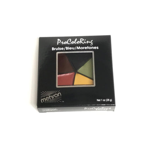 Mehron 5 Color Bruise Makeup Wheel (1 oz)