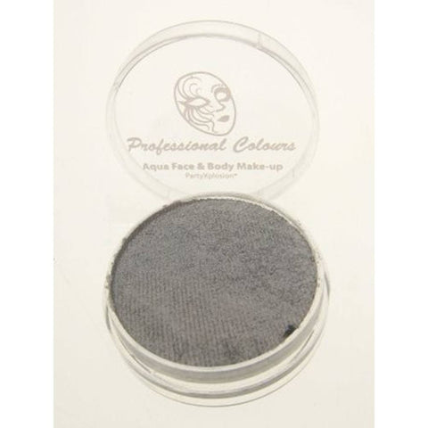 PartyXplosion Pearl Silver Aqua Face Paint 42723 (10 gm)