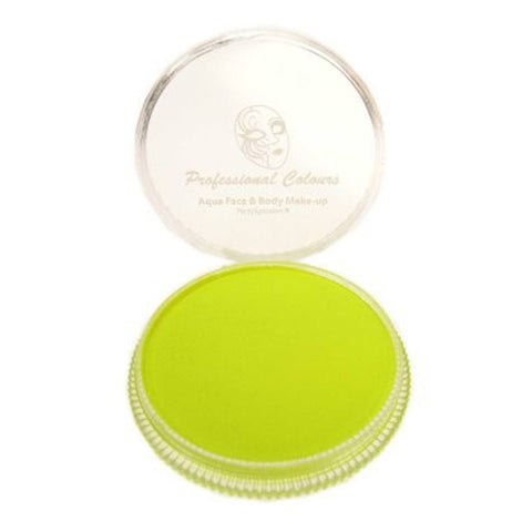 PartyXplosion Neon Yellow Special FX Face Paint (30 gm)