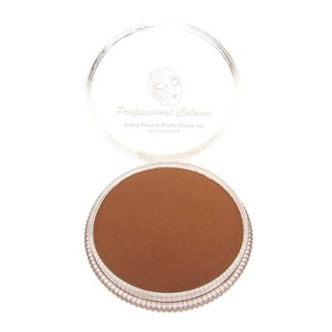 PartyXplosion Light Brown Aqua Face Paint (30 gm)