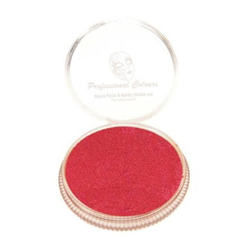 PartyXplosion Pearl Red Aqua Face Paint (30 gm)
