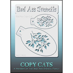 Bad Ass Copy Cat Stencil - 9012