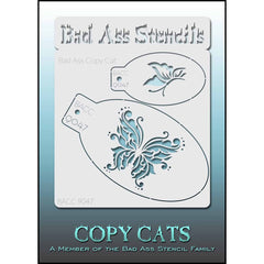Bad Ass Copy Cat Stencil - 9047
