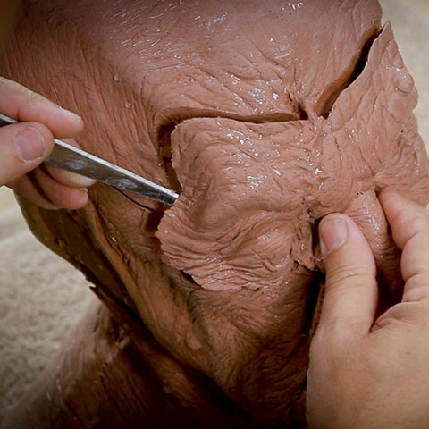 Character Makeup - Sculpture Breakdown & Molding Part 1 (Video Stream)
