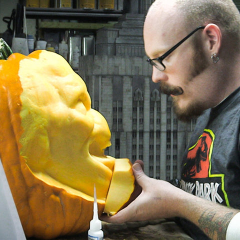 Stan Winston Studios: 3D Pumpkin Carving (Video Stream)