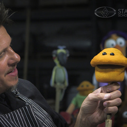 How To Make a Foam Puppet - Part 1 (Video Stream)