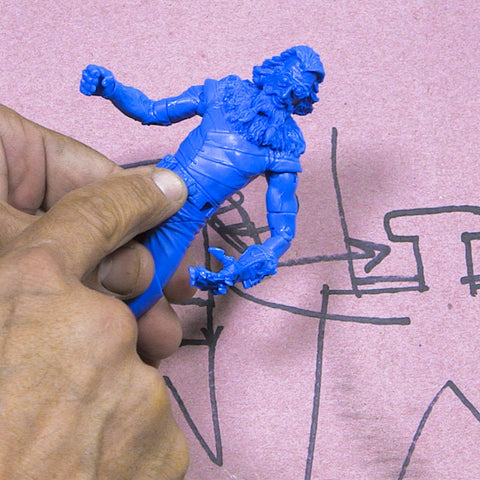 Toy Design & Sculpture for Action Figures & Collectibles - Part 2 (Video Stream)
