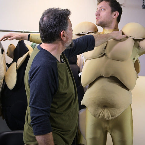 Muscle Suit Fabrication - Part 3 - Attach, Skin, & Test Muscles (Video Stream)