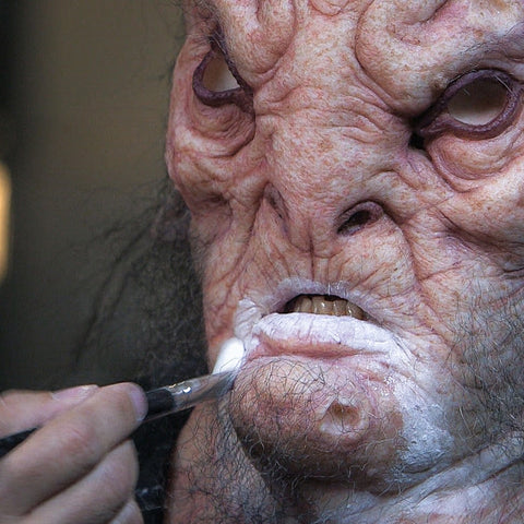 Creature Makeup - Multi-Piece Silicone Prosthetic Application (Video Stream)