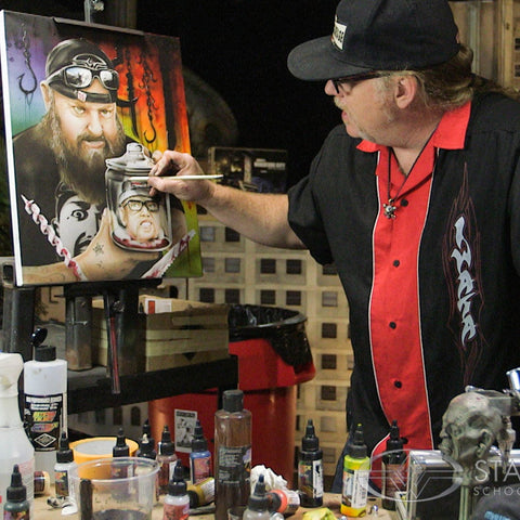 Stan Winston Studios: The Fine Art of Horror Painting (Video Stream)