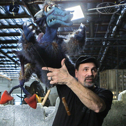 Stan Winston Studios: On-Camera Hand Puppet Performance (Video Stream)