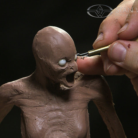How to Sculpt a Creature: Maquette Sculpting Techniques - Part 1 (Video Stream)