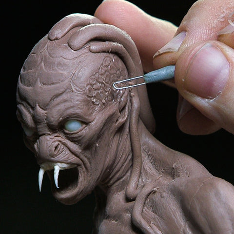 How to Sculpt a Creature: Maquette Sculpting Techniques - Part 2 (Video Stream)