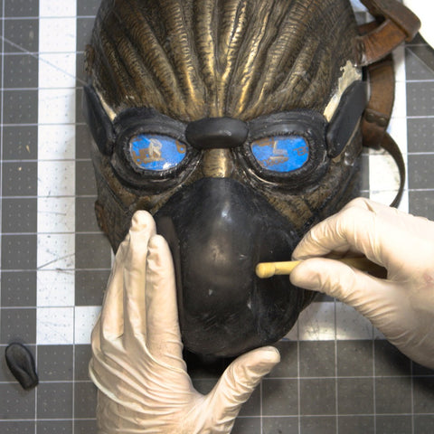 How to Make a Mask - Part 3: Sculpting Goggles & Mouthpiece (Video Stream)