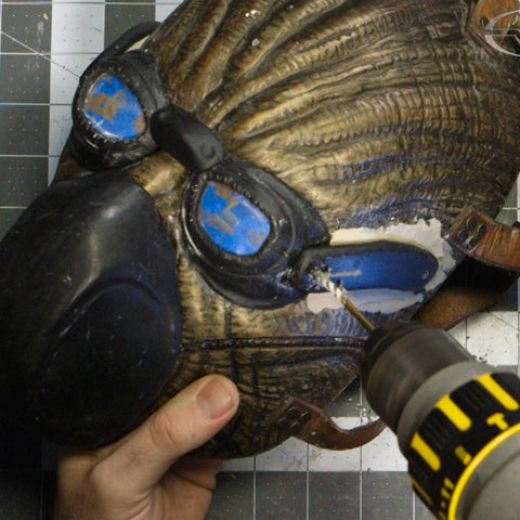 How to Make a Mask - Part 4: Detail Sculpting & Adding Magnets (Video Stream)