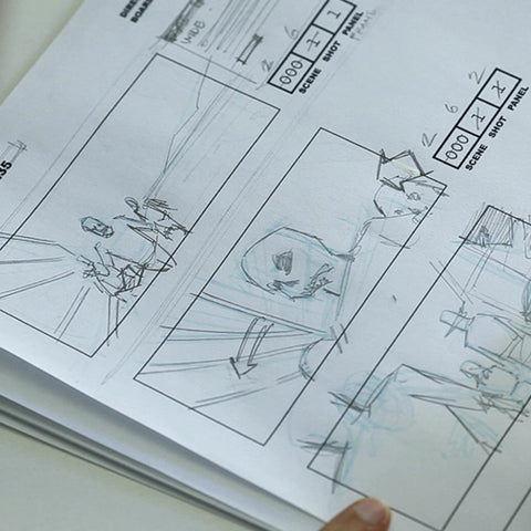 Storyboard A Monster Movie - Traditional Techniques (Video Stream)