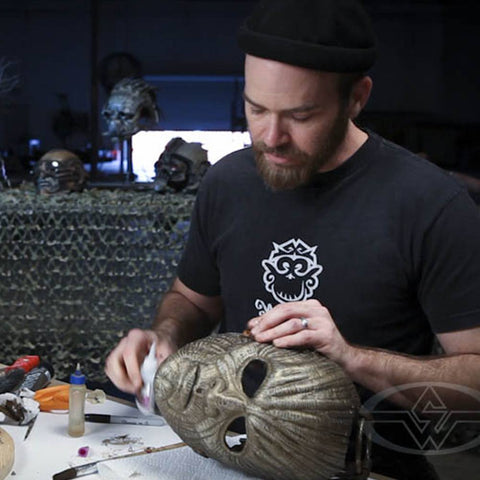 How To Make A Mask - Wearable Dynamic Art Part 2 (Video Stream)