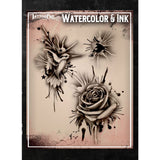 Tattoo Pro Water Color & Ink Series 1 Stencils