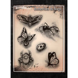 Tattoo Pro Butterflies & Bugs Series 2 Stencils