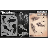 Tattoo Pro Shark Attack Series 3 Stencils
