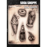 Tattoo Pro Soda Shoppe Series 4 Stencils