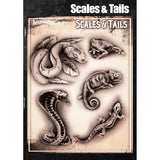 Tattoo Pro Scales & Tails Series 4 Stencils