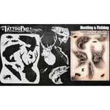Tattoo Pro Hunting & Fishing Series 4 Stencils