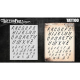 Tattoo Pro Tattoo Font Stencils